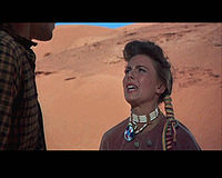 Natalie Wood en The Searchers.