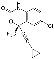 Efavirenz chemical structure
