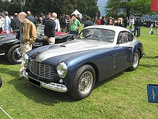 Ferrari 166 Inter Berlinetta .