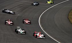 First lap of the 2008 Indy Japan 300.jpg