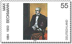 Stamp Germany 2003 MiNr2315 Max Beckmann.jpg