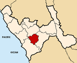 Location of the province Julcán in La Libertad.PNG